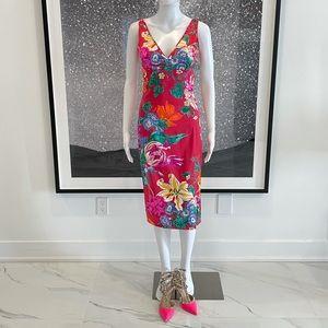 Dolce & Gabbana Floral Silk Dress